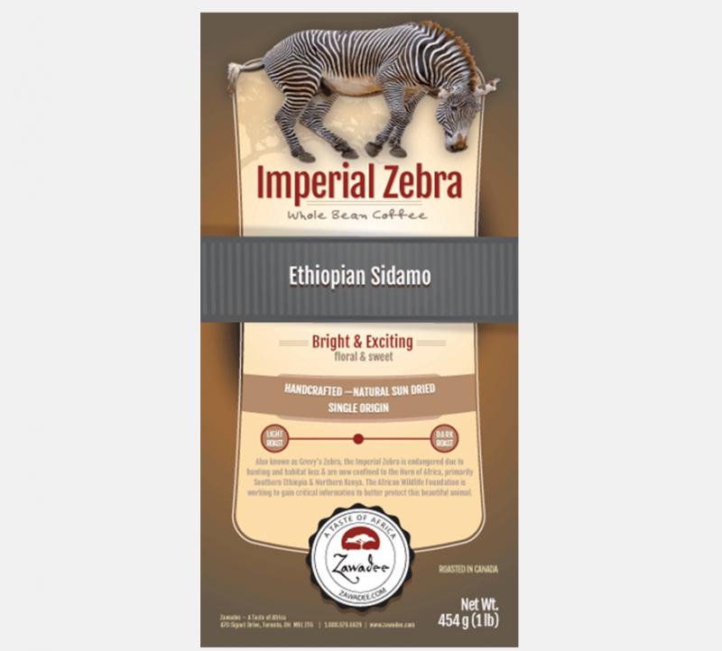 Zawadee Imperial Zebra Ethiopian Sidamo | 16oz