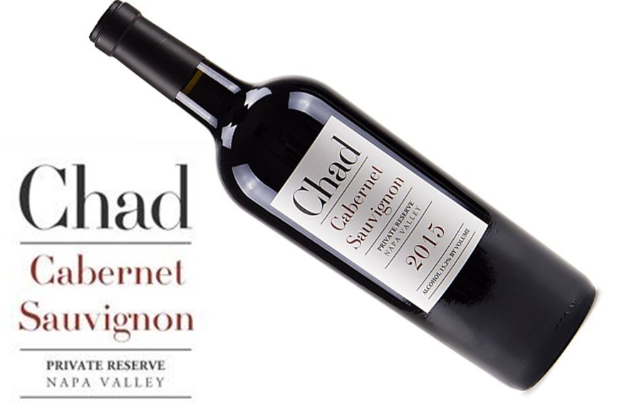 Chad Private Reserve Cabernet Sauvignon 2015   Exclusive   Pairs with Red Meat, Hard Cheese   Drink 60-65°F   Drink now thru 2030   Red Blend   Cabernet Malbec Merlot   Napa, CA   93JS   Mountain blend of great power and finesse