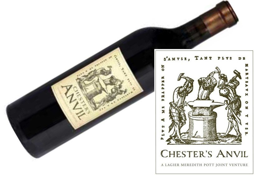 Chester's Anvil Zinfandel 2013 | Gorgeous - Bursting with Ripe Black Fruits | Pairs w/Red Meat, Cheese, Comfort Foods | Serve 60-65°F | Drink now thru 2021 | 93WA | Red Wine | Zinfandel | Napa Valley, CA
