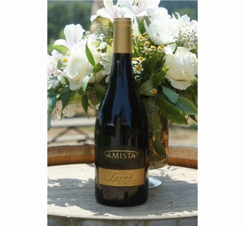 Amista Syrah Dry Creek Valley 2014 | Hermitage-like richness & Unbeatable Value | Pairs w/Red & White Meat, Vegetables, Hard Cheese | Serve 60-65°F | Drink now thru 2020 | 92WA | Red Wine| Syrah | Sonoma, CA | Winemaker Ashley Herzberg