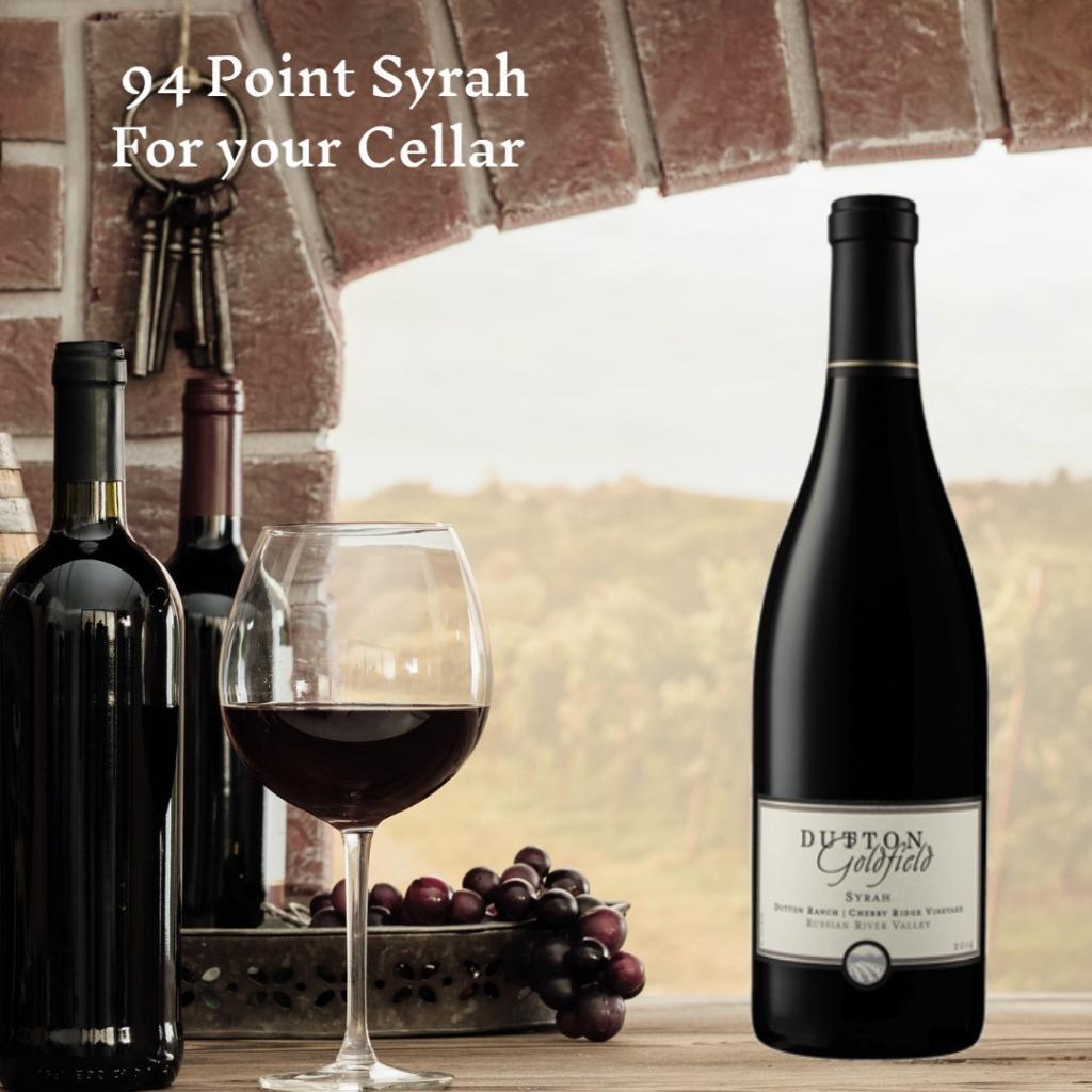 Dutton-Goldfield Cherry Ridge Vineyard Syrah 2014
