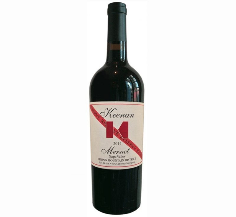Keenan Mernet Reserve 2014 | Total Knockout | Cellar Selection | Pairs with Red Meat, Hard Cheese | Drink 60-65°F | Drink now thru 2030 | Red Blend | Cabernet Sauvignon & Merlot | Spring Mountain District CA | elegant, intense, vibrant delicious rich fruit | Winemaker Michael Keenan