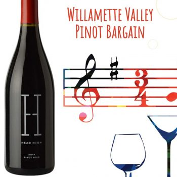 Head High Pinot Noir Willamette Valley 2014