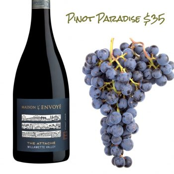 Maison l'Envoye The Attaché Pinot Noir 2014
