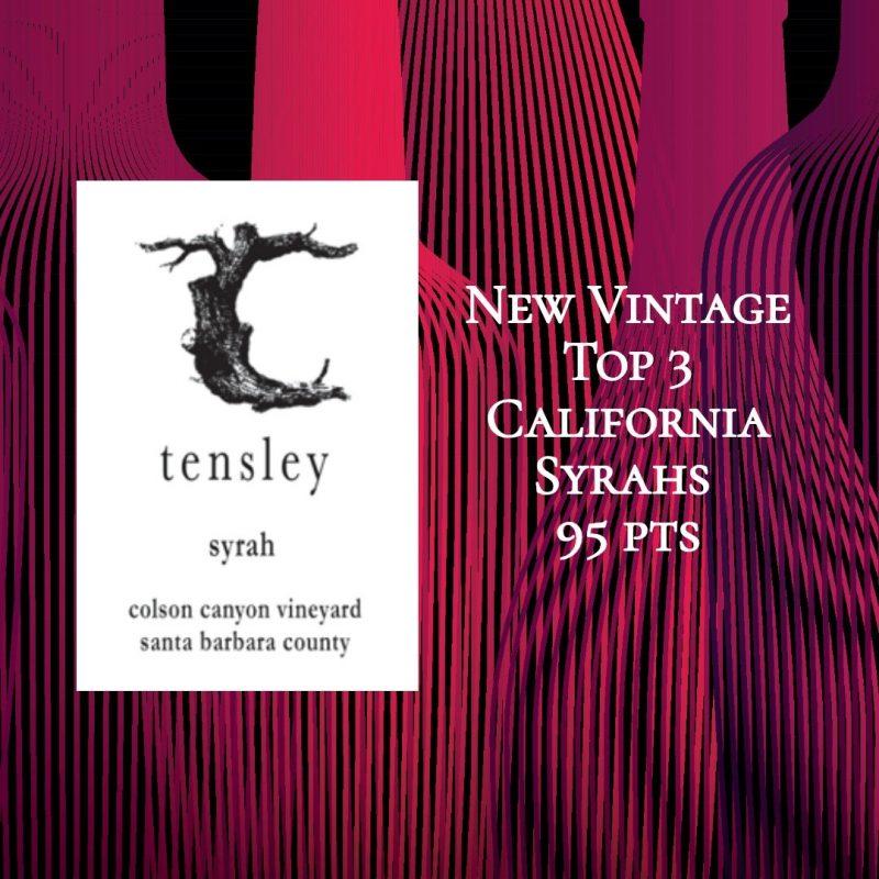 Tensley Syrah Colson Canyon Vineyard 2017