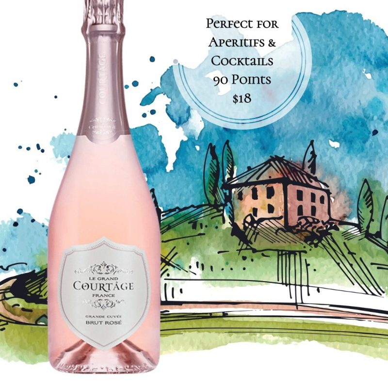 Le Grand Courtage Rose Brut