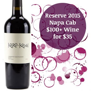 Karo-Kann Reserve Cabernet Sauvignon 2015