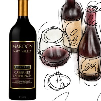 Maroon Coombsville Reserve Cabernet Sauvignon 2014