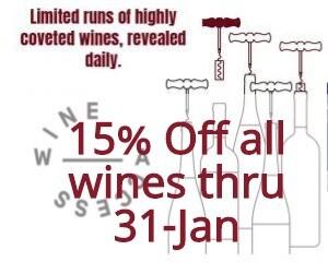 Wine Access Sale