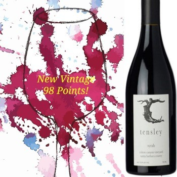 Tensley Syrah Colson Canyon Vineyard 2018