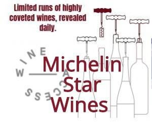 Wine Access Michelin Star Wines